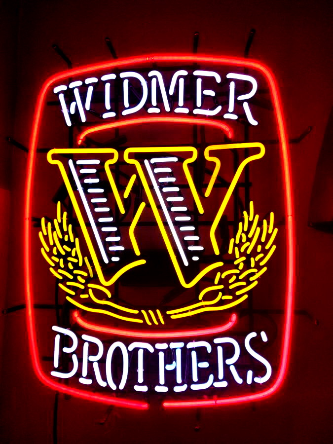 Widmer Brothers Neon Sign