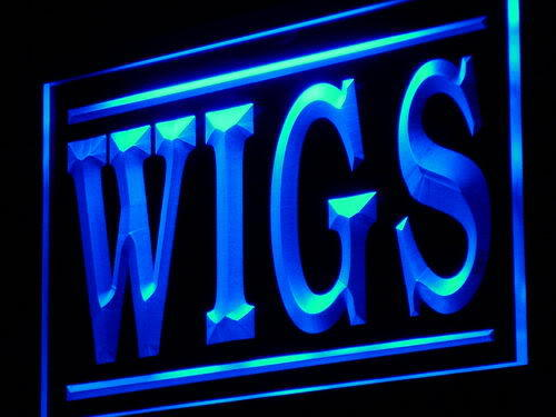 Wigs Shop Display Adv neon Light Sign