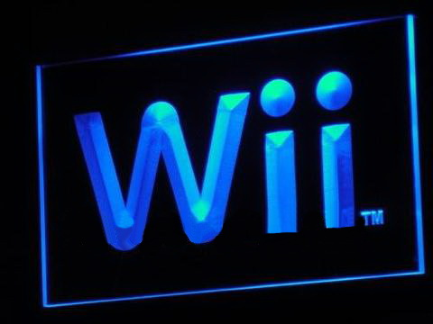 Wii Game Room Bar Beer LED Neon Sign