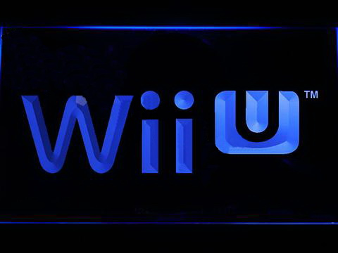 Wii U LED Neon Sign