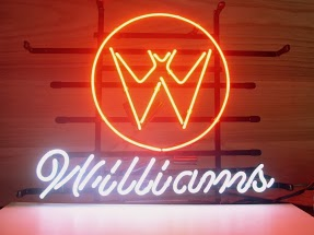 Williams Classic Neon Light Sign 17 x 14