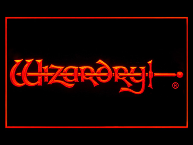 Wizardry Neon Light Sign