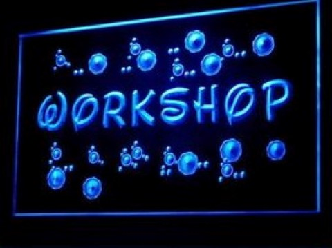 Workshop Art Fabrication LED Neon Sign