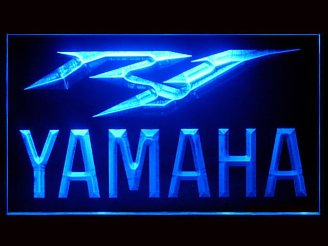 Yamaha R1 LED Light Sign