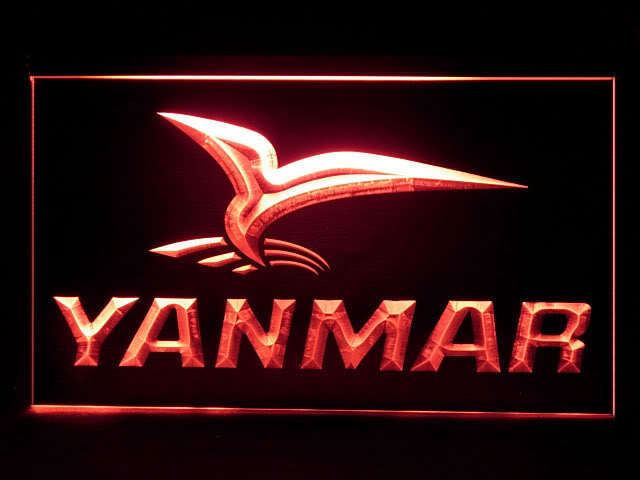 Yanmar Tractor Service LED Sign
