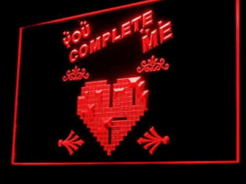 You Complete me LED Neon Sign