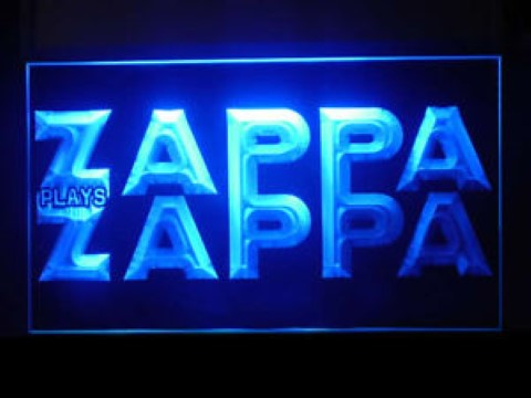 Zappa Plays Zappa LED Neon Sign