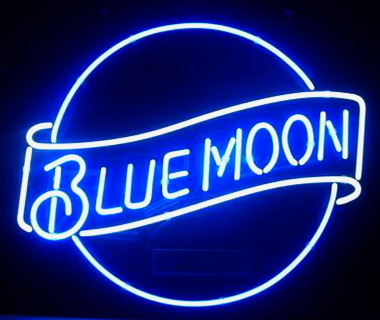 Blue Moon Neon Signs