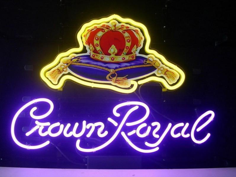 Crown Royal Neon Signs