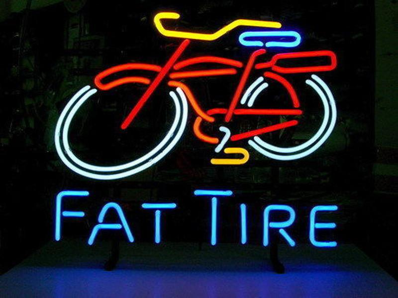 Fat Tire Neon Signs