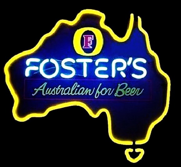 Fosters Australia Neon Signs
