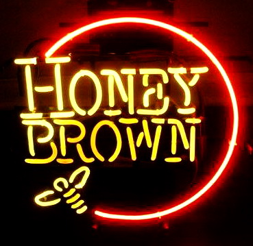 Honey Brown Neon Signs