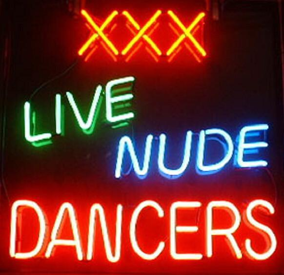 Mancave and Nude Neon Signs