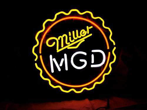 Miller MGD Neon Signs