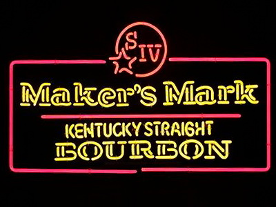 Makers Mark Neon Signs