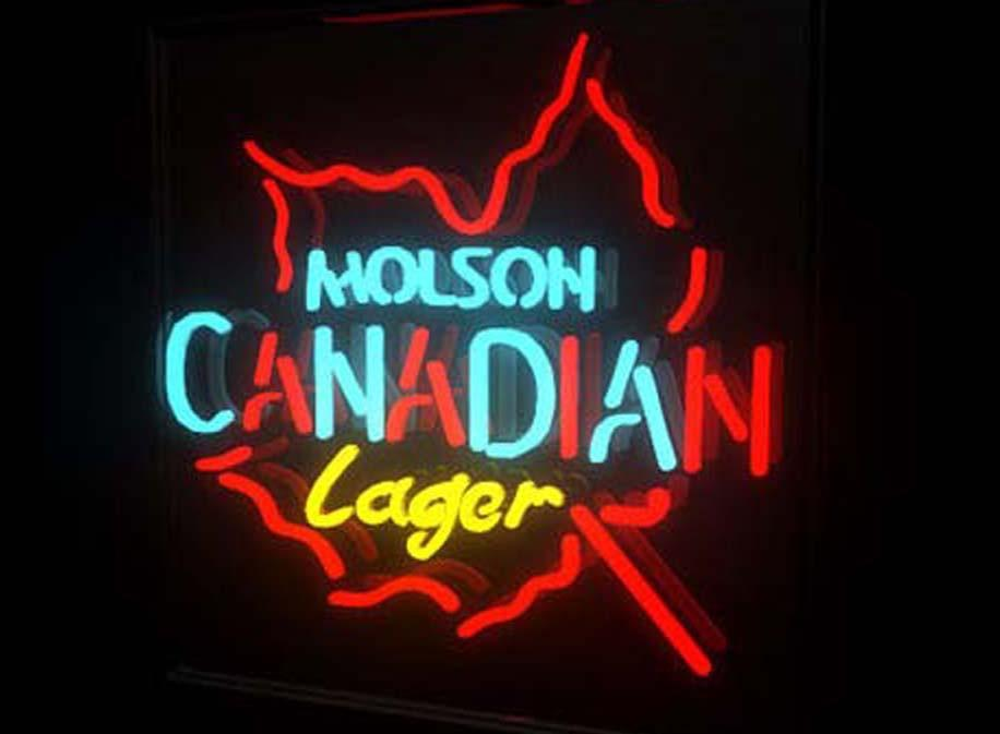 Molson Canadian Neon Signs