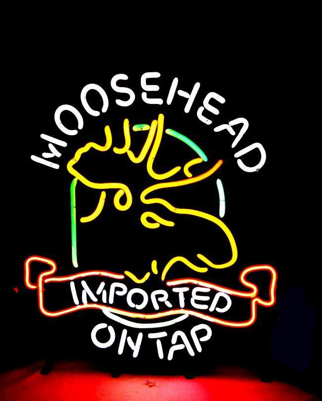 Moosehead Lager Neons Signs
