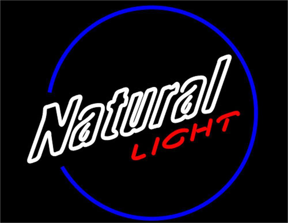 Natural Light Beer Neon Signs