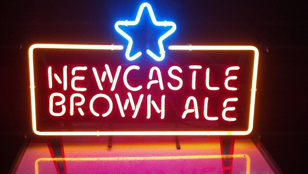 Newcastle Brown Ale Neon Signs