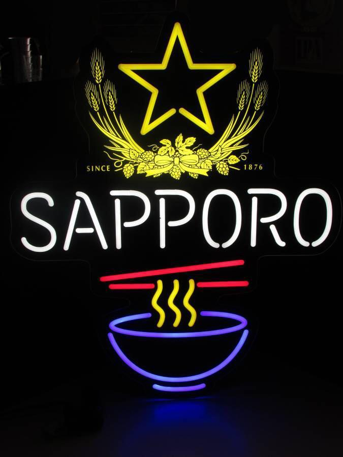 Sapporo Premium Beer Neon Signs