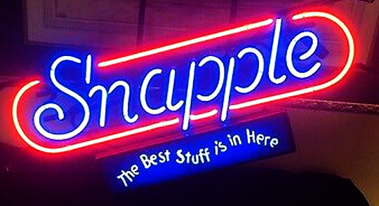 Snapple Neon Signs