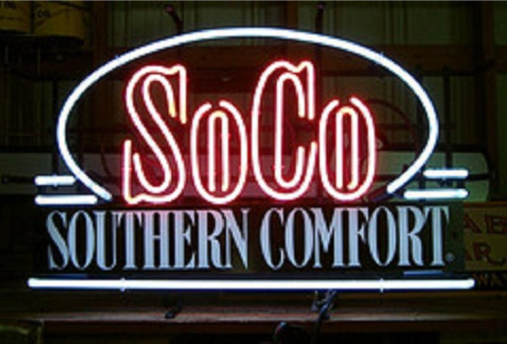 Southern Comfort Neon Signs