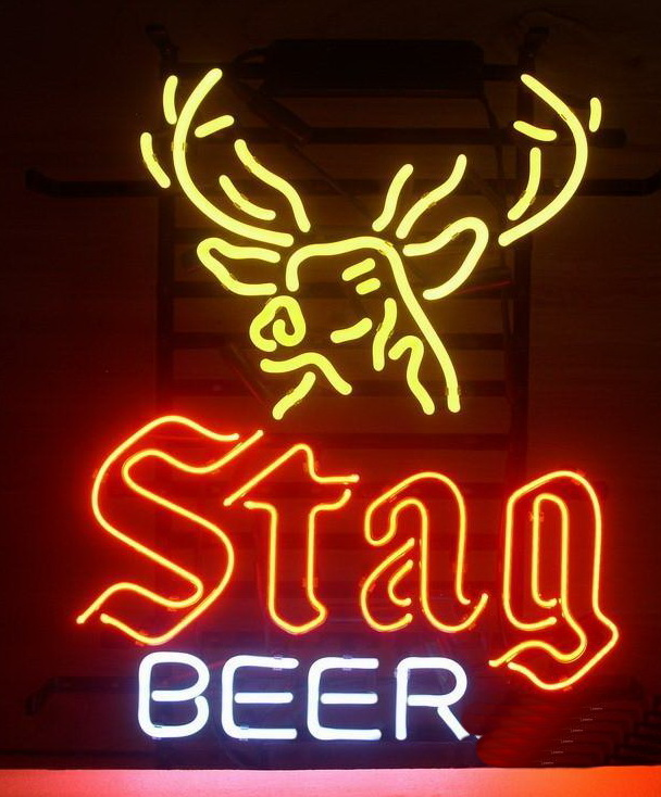 Stag Beer Neon Signs