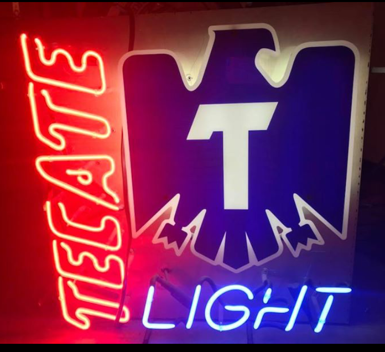 Tecate Neon Signs