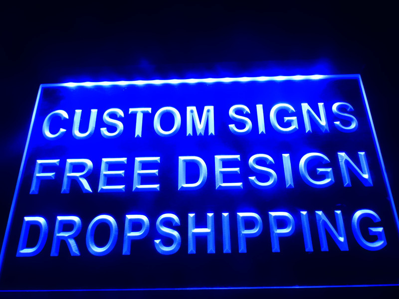 Custom Engraved LED Neon Signs