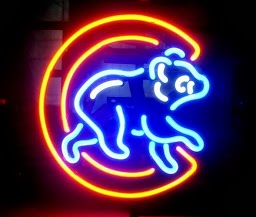 Chicago Cubs Bear Classic Neon Light Sign 17 x 14