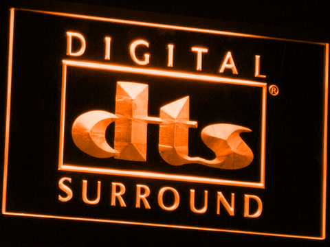 dts Digital Surround LED Neon Sign