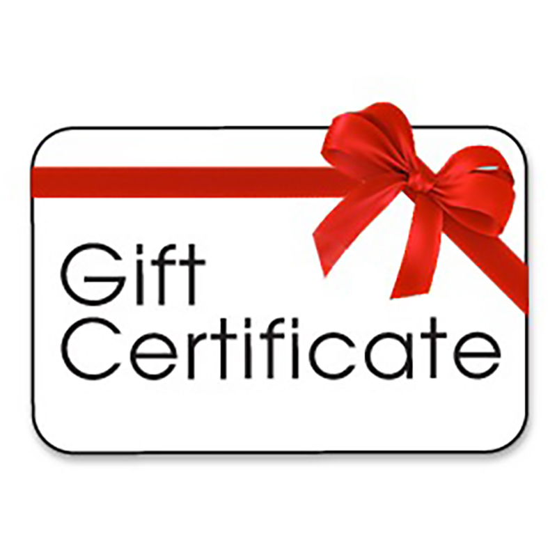 Gift Certificate $49.95