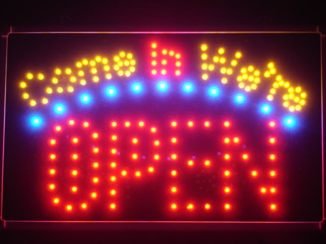 Come in we're OPEN Bar Beer Bar LED Neon Light Signs
