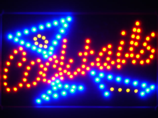 Cocktails Bar LED Neon Light Sign Whiteboard