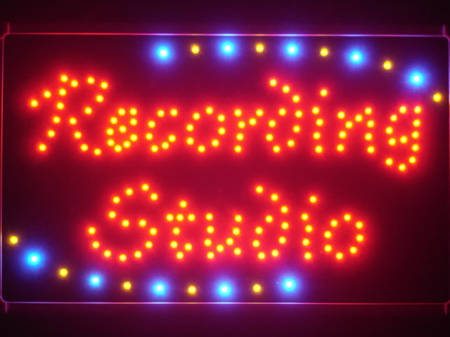 Recording Studio LED Neon Light Sign