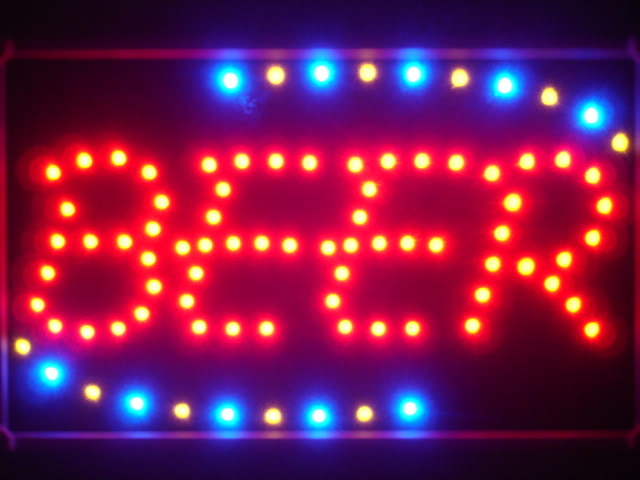 Beer Bar Led Neon Sign WhiteBoard