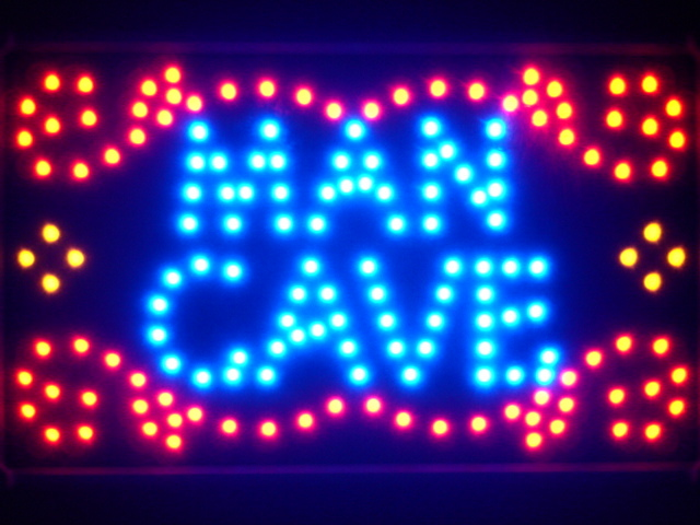 Man Cave Garage Room Led Neon Light Sign