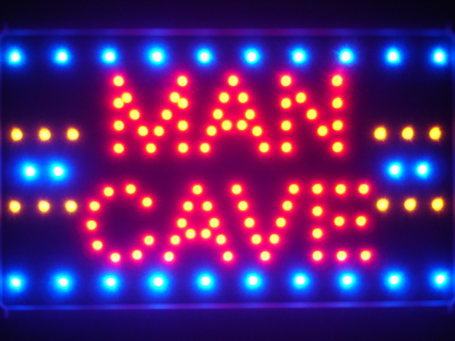 Man Cave Room Basement Bar Led Neon Light Sign