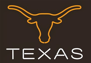 Texas Longhorns Classic Neon Light Sign 17 x 14