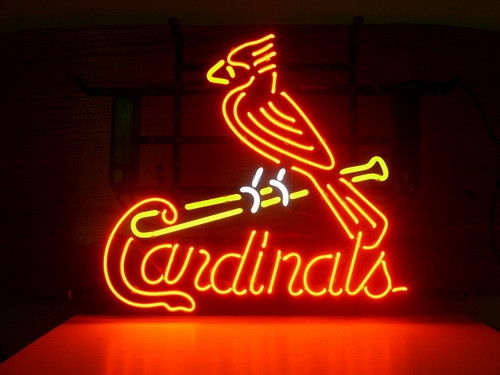 MLB Cardinals Red Classic Neon Light Sign 16 x 14