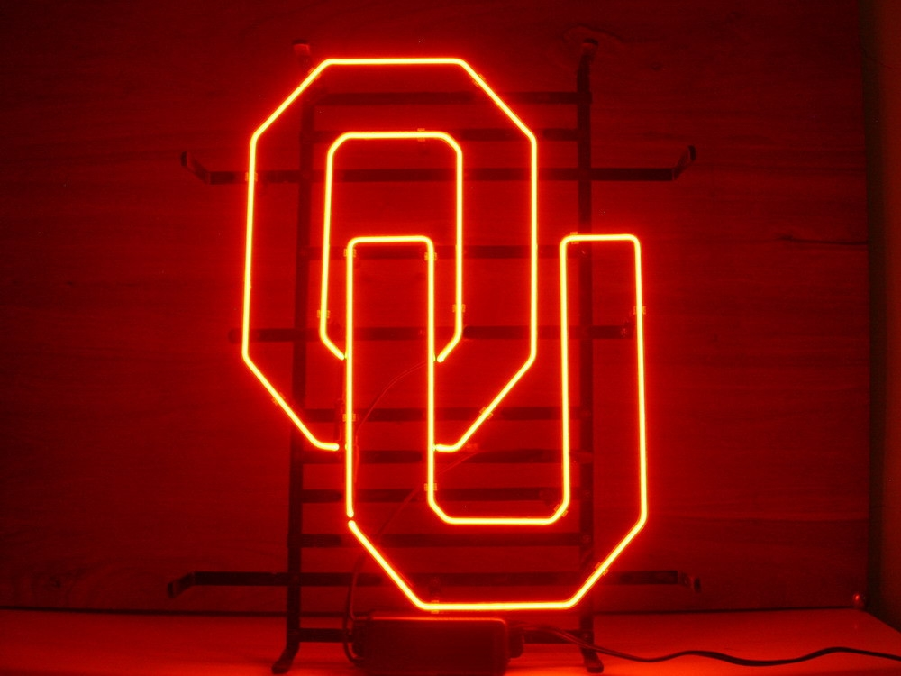 NCAA Oklahoma Sonners UO Beer Neon Light Sign 17 x 14