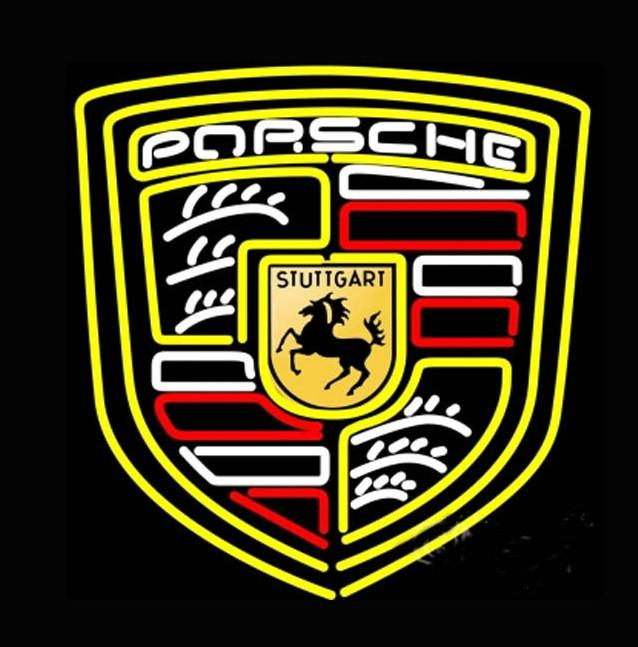 Porsche Car Dealer Classic Neon Light Sign 30 x 26